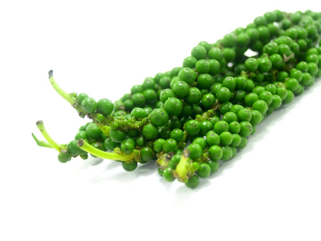 green peppercorns are a Thai ingredient