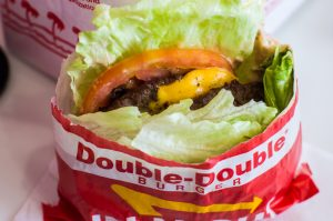 in-n-out burger, a California classic