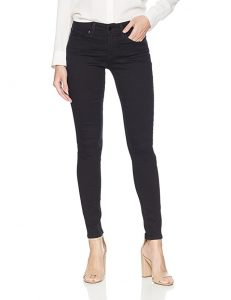 black jeans are a staple for a minimalist summer travel wardrobe