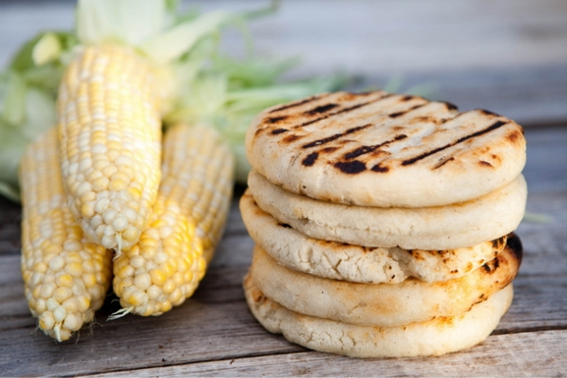 pica pica arepa kitchen is a great 100% gluten free option while you're shopping in the mission
